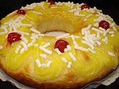 Paraguayan cake and cake recipes - recetas dulces - Red Apple Challah, Beignets, Croissants, Pan Dulce, Food Cakes, Bagel, Biscotti, Doughnut, Cake Recipes