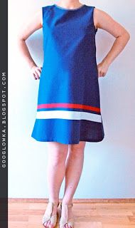 A simple DIY maternity dress, click for more details.