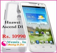 Huawei Ascend D1 Mobile Phone Rs. 10990