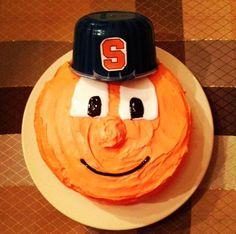 """Happy birthday to a future member of the Orange, 🍊🏀"" Syracuse University, Husband, Treats, Cakes, Baking, Orange, Usa, Birthday, Party"