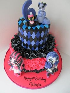 Monster High 6th Birthday Cake