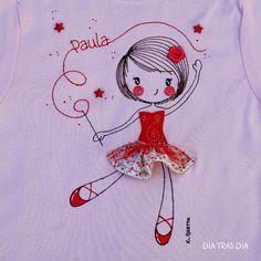 Camiseta de niña Dia tras día                                                                                                                                                     Más