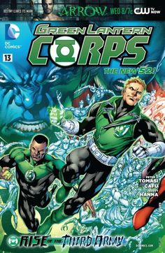 Green Lantern Corps #13 #DC #GreenLanternCorps (Cover Artist: Ivan Reis) On Sale: 10/10/2012