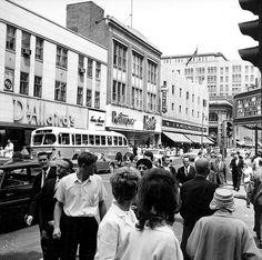 St-Catherine Street, 1961