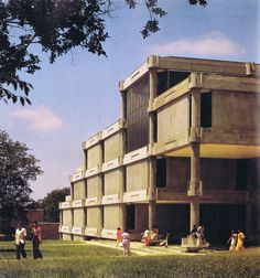 Library, Tougaloo College, Tougaloo, Mississippi, 1966-72, (Gunnar Birkerts)