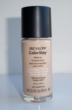 I am still searching for that perfect foundation for my wedding day. I really want flawless skin, even if my skin is acting up with stress or nerves. So I think Revlon Colorstay Foundation, Perfect Foundation, Flawless Skin, Oily Skin, Perfume Bottles, Make Up, Beige, Acting, Valentines Day Weddings