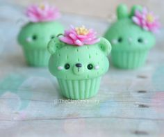 I made a few cactus themed animal cupcakes. This one is a little bear with a cactus flower on his head. I also made a basic one and a bunny one that I'll post soon. ❤ Each of these will be listed in my Etsy store on Friday #polymerclay #polymerclaycharms #claycharms #clay #charms #jewelry #food #foodie #foodjewelry #kawaiifood #pendants #handmade #diy #etsy #crafts #new #cactus #cacti #flowers #nature #cupcakes #kawaiicharms #kawaii #cute #cutecharms #pink #bear #animals