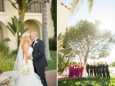 Intertwined Events: Romantic Terranea Wedding