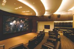 In Home Theaters