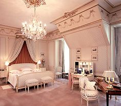 The Elton John Suite at the Ritz Paris