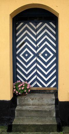 doors by quenalbertini - Door in Denmark, photo by Jytte Jensen-via Flickr