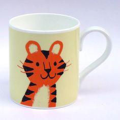 Tiger Mug - Lisa Jones