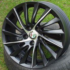 Set 4 Cerchi in lega 18 Alfa romeo Giulietta 159 Sportwagon Brera JTDM GPL TBI