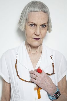 Jean Woods, age 75. Boutique gift shop assistant - Dr Martens with everything. Fabulous Fashionistas - meet the ladies | Radio Times