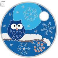 Pathtag #24400 - Holiday Owl