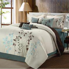 Bliss Garden 8 Piece Comforter Set