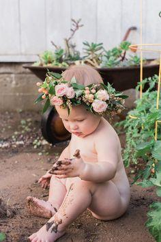 Baby girl 1st year portraits