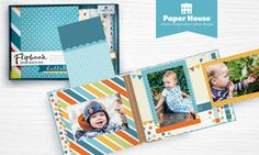 Flipbooks™ - unique new photo albums that make great gifts! Each page flips & folds to reveal your photos, journaling and memories. Holds up to 36 photos! See more, get a free welcome gift & special offers: https://www.paperhouseproductions.com/wholesalenewsletter (Sponsored by Paper House)