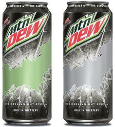 mt dew dark night rises batman cans What Is Mountain, Mountain Dew, The Dark Knight Rises, Batman The Dark Knight, Mtn Dew Flavors, Jeremy Jones, Best Soda, Smart Materials, Pepsi Cola