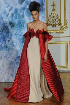 Alexis Mabille | Fall/Winter 2014 Couture Collection | Modeled by Hadassa Lima | July 7, 2014, Paris |  Style.com