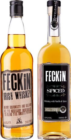 FECKiN Irish Whiskey... Great Whisky with a great price!