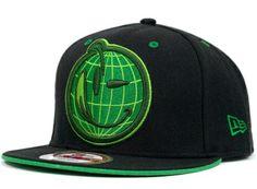 c838901f6b7 Casquette Yums Snapbacks Noir Vert Casquette New Era Pas Cher · Fitted  Baseball CapsBaseball Caps For SaleBaseball HatsSupreme ...