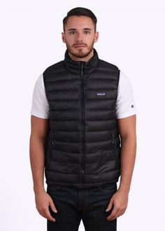 Patagonia Down Sweater Vest - Black