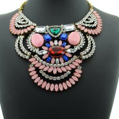 Gorgeous statement necklace Breathtaking statement necklace. New in package Jewelry Necklaces