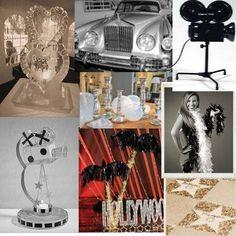 oscar themed wedding | Hollywood & Oscars Event
