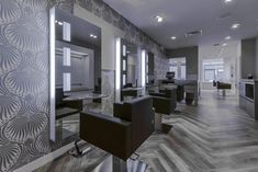Discover Demetra styling chair. Salon Chairs, Minimal Fashion, Minimalism, Interior Design, Wood, Furniture, Home Decor, Style, Decoration Crafts