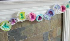 Design Improvised: March DIY Night: Cupcake Liner Crafts