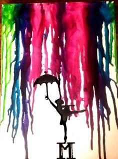 """First crayon art """"Dancers are athletes of God"""" - Albert Einstein"""