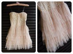 Beautiful Strapless Ballet Dress