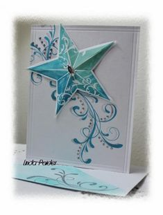 Stamps: Everything Eleanor su, su Christmas Star Paper: whisper white Paper Size: 6.5x5 Ink: island indigo, coastal cabana, pool party, slate grey Accessories: stickles,gem