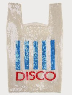 Ashish Spring 2014 sequin-encrusted faux plastic shopping bags at Colette