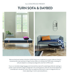 Turn Sofa & Daybed