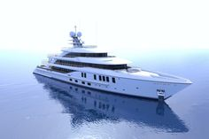 Staring At This Amels Superyacht Could Prove to be a Real Challenge