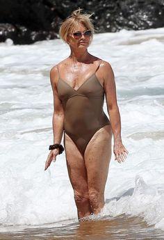 Goldie Hawn looks incredible at 70.