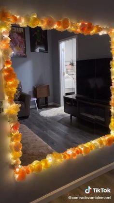 Diy Room Decor Videos, Cute Diy Room Decor, Diy Room Decor For Teens, Indie Room Decor, Diy Crafts For Home Decor, Cute Room Ideas, Room Ideas Bedroom, Diy Bedroom Decor, Hipster Room Decor