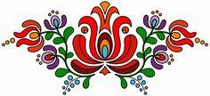 Scroll down for more patterns Hungarian Embroidery, Folk Embroidery, Embroidery Patterns, Machine Embroidery, Folk Art Flowers, Flower Art, Rome Antique, Scandinavian Folk Art, Giant Paper Flowers