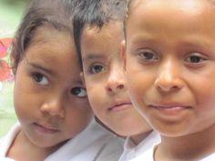 Meeting local school children