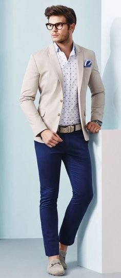 blue chino colour to style
