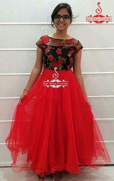 Women S Plus Size Resort Dresses Refferal: 8695312428 Kalamkari Dresses, Ikkat Dresses, Party Wear Frocks, Party Wear Dresses, Long Gown Dress, Frock Dress, Stylish Dress Designs, Dress Neck Designs, Designer Anarkali Dresses