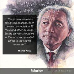 Michio Kaku quote - Futurism