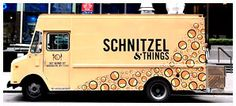 Schnitzel & Things (German/Austrian) - food truck - delicious signature fried cutlets into amazing sandwiches! it roams NYC you can track it here https://twitter.com/#!/schnitznthings RECOMMENDED: chicken schnitzel w/ pesto mayo