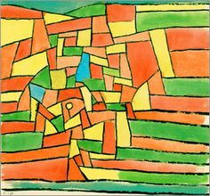 Paul Klee - Garden by the stream