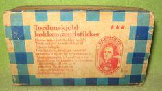 Old Denmark HE Gosch Matchbox & Wood Matches TORDENSKJOLD TAENDSTIKKER