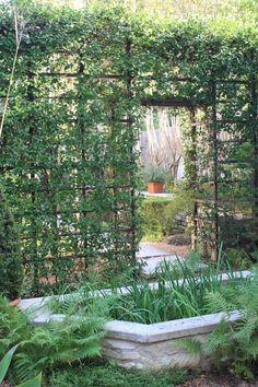 Exterior: Fascinating Ideas Garden Impressive Front Yard And Garden Decoration With Red Rose Garden Trellis And White Iron Small Garden Entrance Beautiful Garden Decoration from Wonderland Rose Trellis
