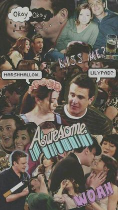 Wallpaper, Lily, Marshall, HIMYM, série, how I Met Your Mother
