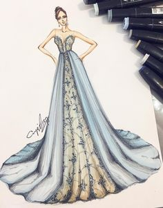 New Fashion Sketchbook Inspiration Dresses 33 Ideas Wedding Dress Sketches, Dress Design Sketches, Fashion Design Sketchbook, Fashion Design Drawings, Fashion Sketches, Fashion Drawing Dresses, Fashion Illustration Dresses, Fashion Dresses, Fashion Illustrations